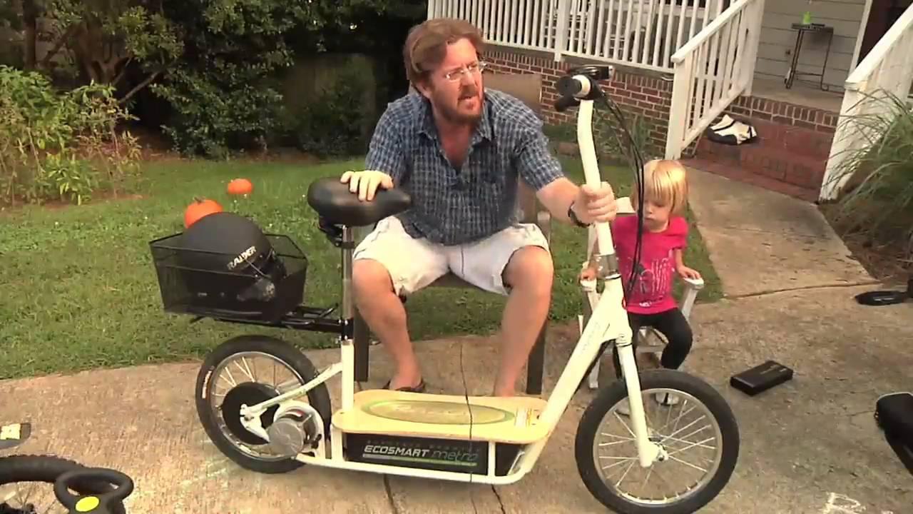 Razor Ecosmart Metro Electric Scooter Youtube