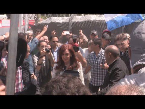 Cristina Fernández acusa a Macri de persecución
