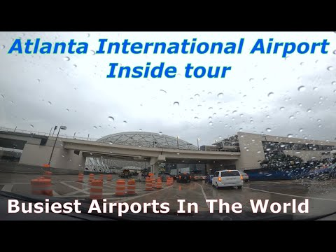 Atlanta 4K   Hartsfield-Jackson Atlanta International Airport-ATL   Busiest Airport In The World!