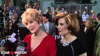 Karen Sharpe and Kat Kramer red carpet interview at 2013 TCM Classic Film Festival