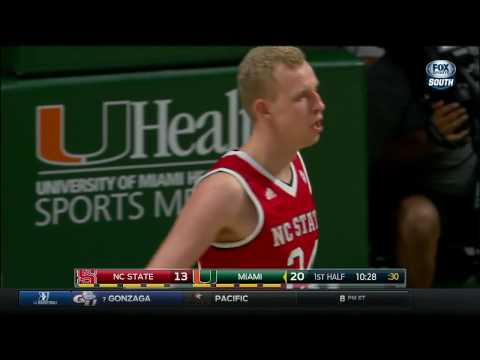 2016.12.31 NC State Wolfpack at Miami Hurricanes Basketball