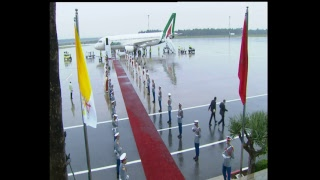 مباشر: المراسيم الرسمية لاستقبال البابا بمطار الرباط سلا من طرف جلالة الملك محمد السادس