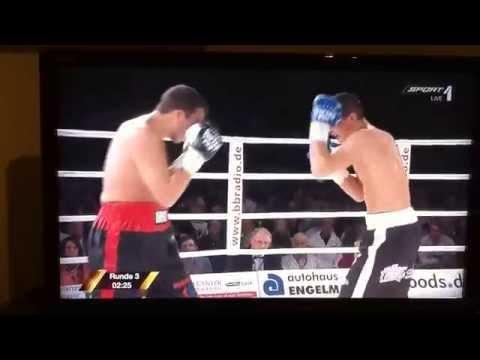 Robin Krasniqi vs. Abdelhakim Derghal WBO Europameisterschaft im Halbschwergewicht Part II