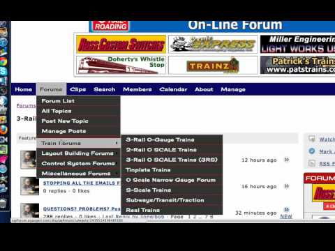 O Gauge Railroading Forum Tutorial Part Two
