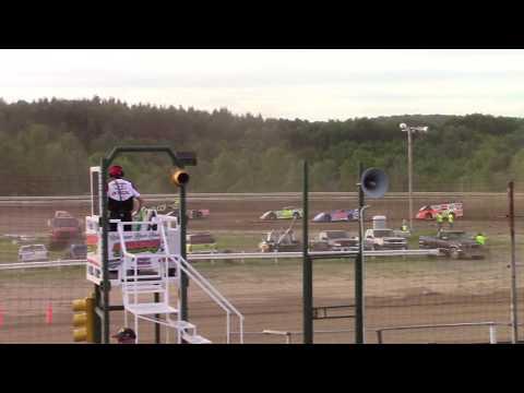 Hummingbird Speedway (6-8-19): Swanson Heavy Duty Truck Repair Semi-Late Model Heat Race #1