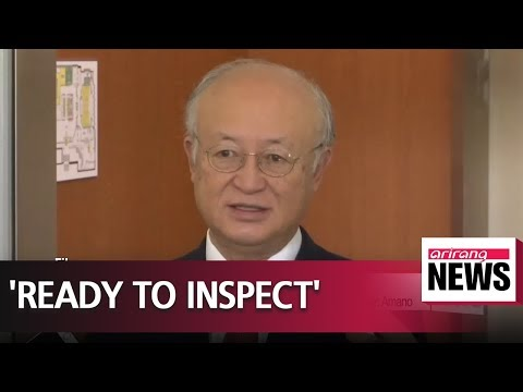 IAEA ready to inspect North Korea, ending nuclear program will be easy: Amano