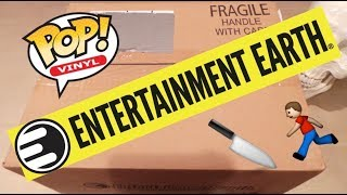 Entertainment Earth Funko POP! Shipment Unboxing
