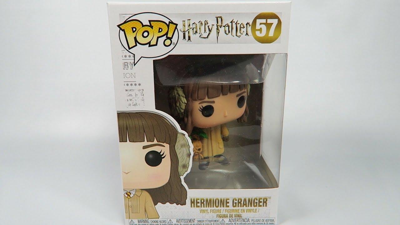 Funko Pop Vinyl Harry Potter Hermione Granger Herbology Unboxing