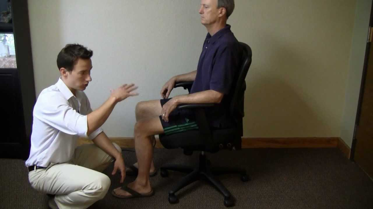 desk chair for lower back pain replacement seats adjusting your office to avoid and neck youtube