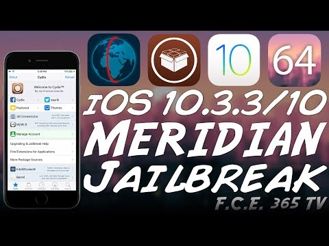 iOS 10 3 3/10 0 Meridian Jailbreak Released (Including iPhone 7/7+) | All  you need to know