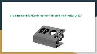Top 11 Best Hair Dryer Holders 2019 Review – Buyer's Guide