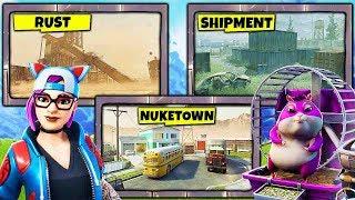 NUKETOWN, RUST and SHIPMENT in FORTNITE!