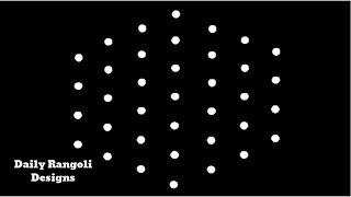 Video How to rangoli 7 dots easy rangoli sikku kolam rangoli easy muggulu art kolam rangoli beginners #401 download MP3, 3GP, MP4, WEBM, AVI, FLV September 2018