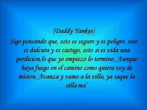Daddy Yankee Ft Jalvarez El Amante Letra Youtube