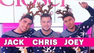 Jack Fincham, Chris Hughes And Joey Essex Reveal Their Christmas And New Year Plans