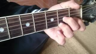 """Chuyện Tình Không Dĩ  Vãng Hướng dẫn Bolero guitar """""""