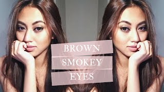 Brown Smokey Eye Tutorial ♡