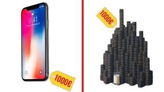 IPHONE X oder 1 AUTO ? 16 DINGE die man sich für 1.150€ auch KAUFEN könnte