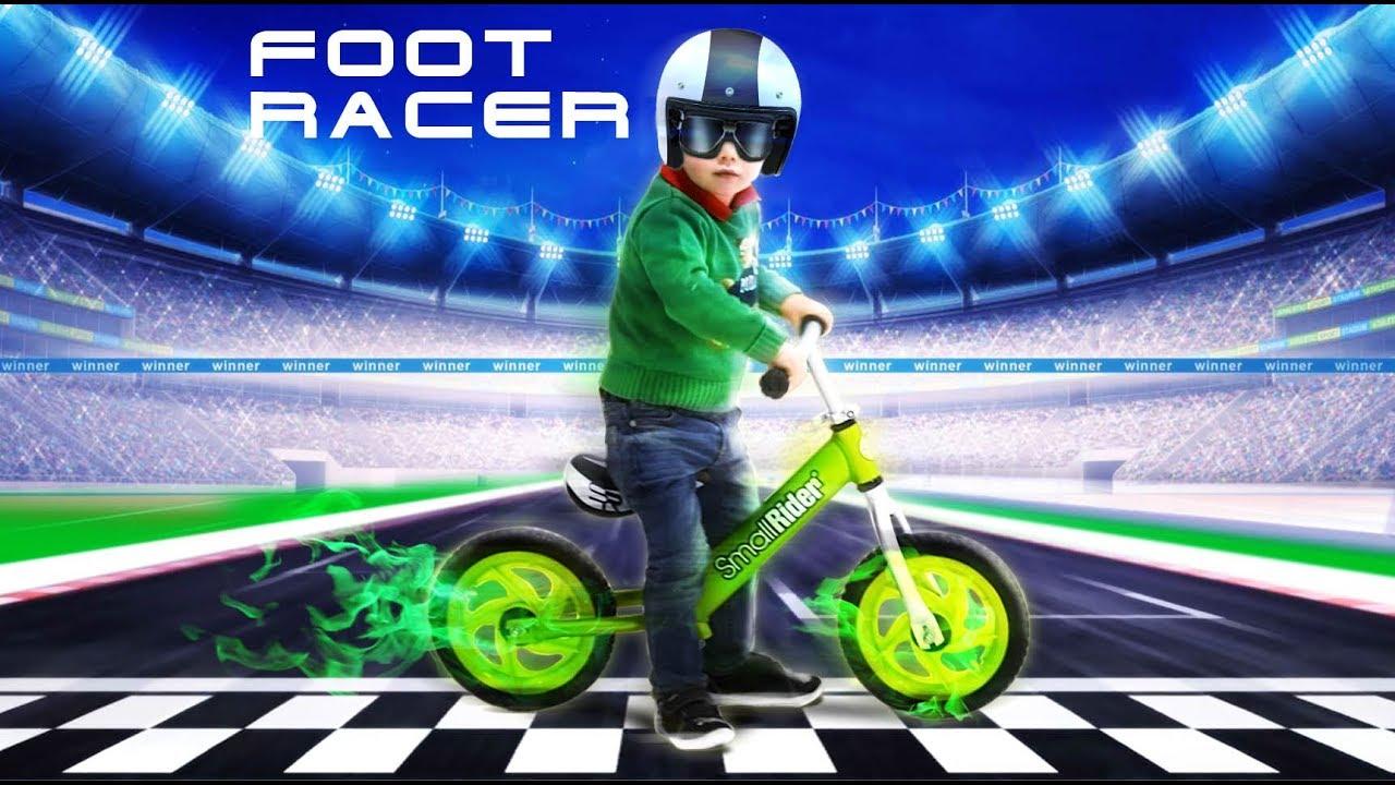 Детский беговел Small Rider Foot Racer Air