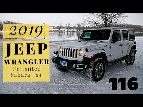 2019 Jeep Wrangler Unlimited Sahara 4x4 | full review and test drive