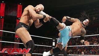 Jimmy Uso vs. Cesaro: Raw, February 2, 2015