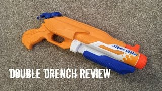 Nerf Super Soaker Double Drench Unboxing & Firing Test