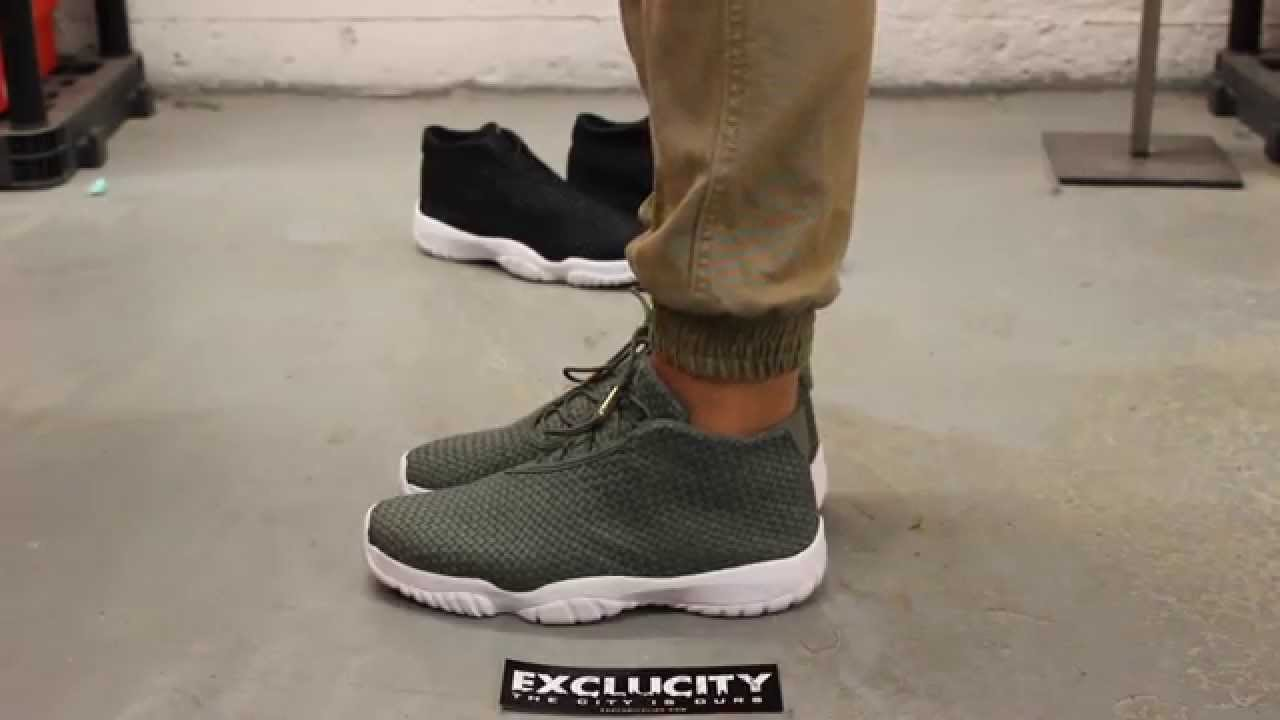 e736fcc14f5 Air Jordan Future Iron Green - White On-feet Video at Exclucity ...