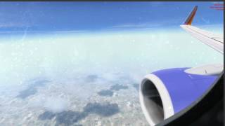 [P3D] Southwest Airlines 737 EXTREME Turbulent Climb To Cruise