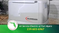 Electrician Fort Myers FL - All Service Electric of Ft Myers Florida