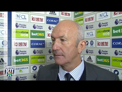 Tony Pulis speaks after Liverpool defeat