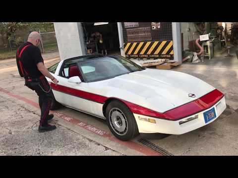 1984 Corvette C4 - A-TEAM Face Man Dirk Benedict - SOLD -