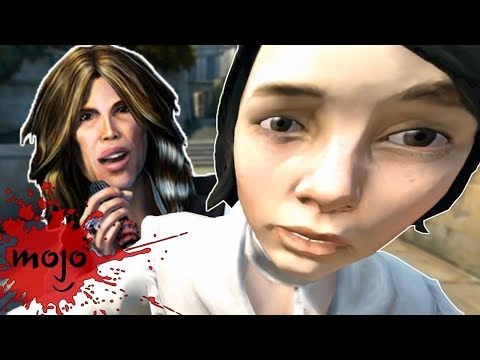 Top 10 Games With the Freakiest Character Faces