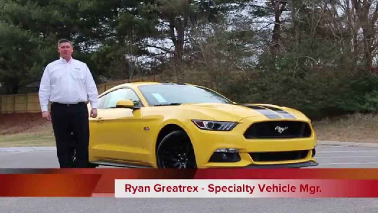 2015 mustang gt performance pack triple yellow fully loaded youtube