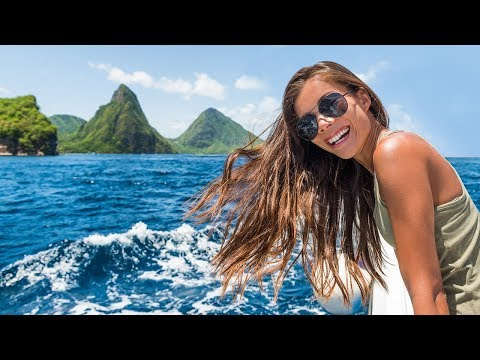 St Lucia's adventurous side