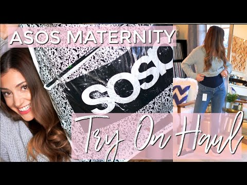 ASOS Maternity Try On Haul | MY PRE-PREGNANCY JEANS DON'T FIT!