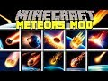 Minecraft METEORS MOD! l SURVIVE GIANT REALISTIC METEOR FALLS!l Modded Mini-Game