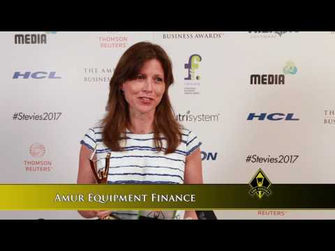 Amur Equipment Finance Wins Stevie Award in 2017 American Business Awards