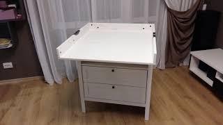пеленальный столик Aton-Mebel 70K/4 обзор