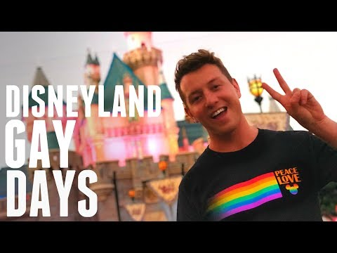 First Disneyland Gay Days! | Tenani