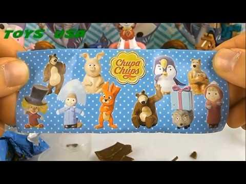 Маша и Медведь Masha and the Bear Masha i Medved Toys chupa chups Compilation