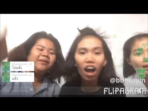 Thai Girls fun Periscope music dance