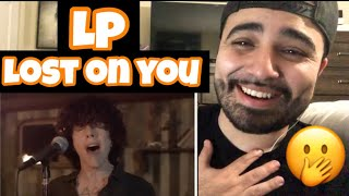 """Reacting to LP """" Lost On You """""""