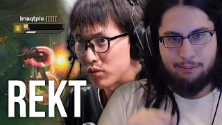 One of Imaqtpie's most viewed videos: Imaqtpie - DESTROYING DOUBLELIFT (EMBARRASSINGLY ONE SIDED)