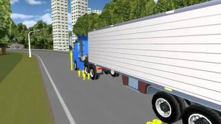 Trailer Coupling During Simulation