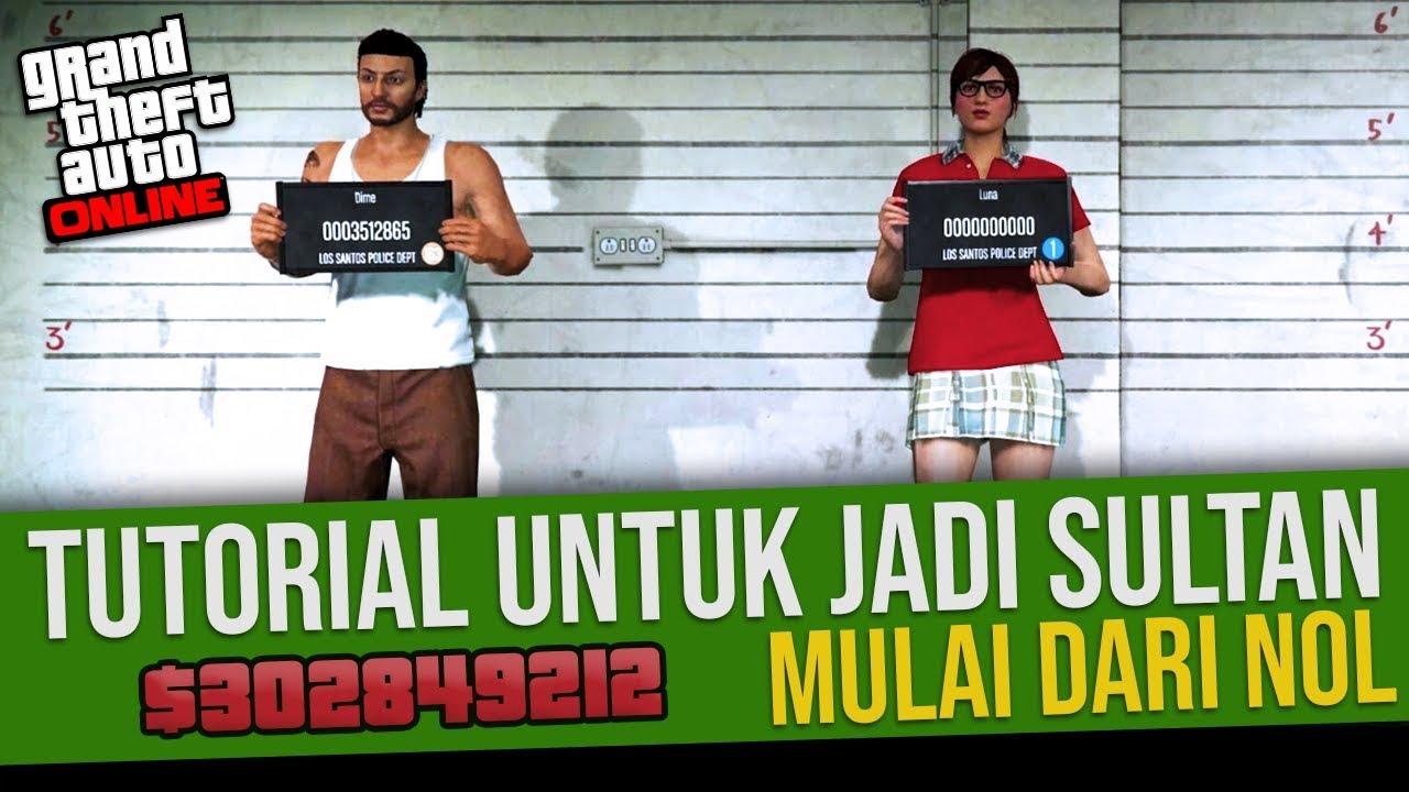 Cara Gampang Cari Uang Banyak Sebagai Pemula (Part 1) - Uang GTA 5 Online Indonesia