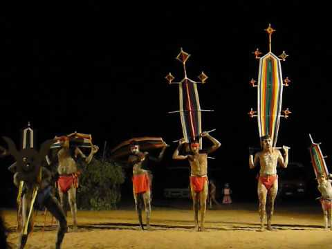 Traditional dancers of the Kimberley, Western Australia