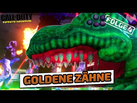 Goldene Zähne - Call of Duty: Infinite Warfare Zombies - Deutsch German - Dhalucard thumbnail