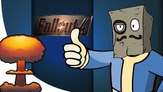 Fallout 4 Смешные Моменты Баги, Трусливый Рейдер Монтаж