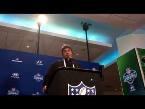NFL Combine Update Su'a Cravens USC Trojans NFL Ready #NFLCombine