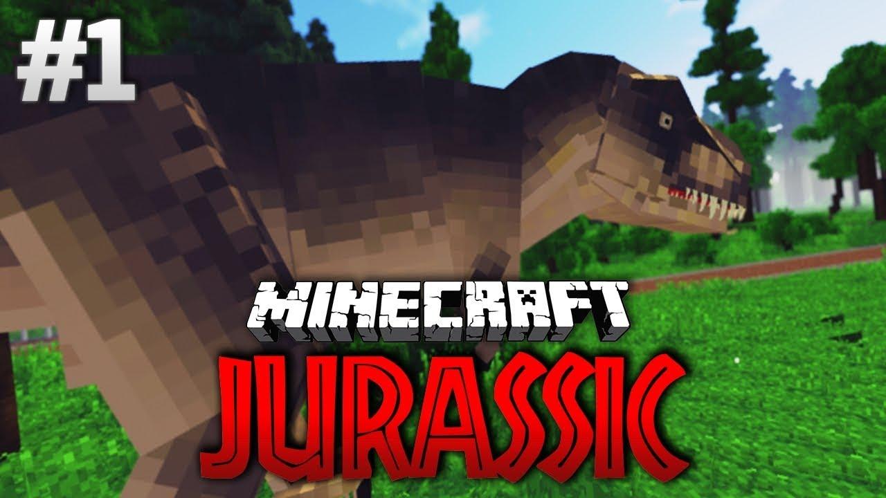 Minecraft Jurassic Rückkehr Der Dinosaurier YouTube - Minecraft dinosaurier spiele